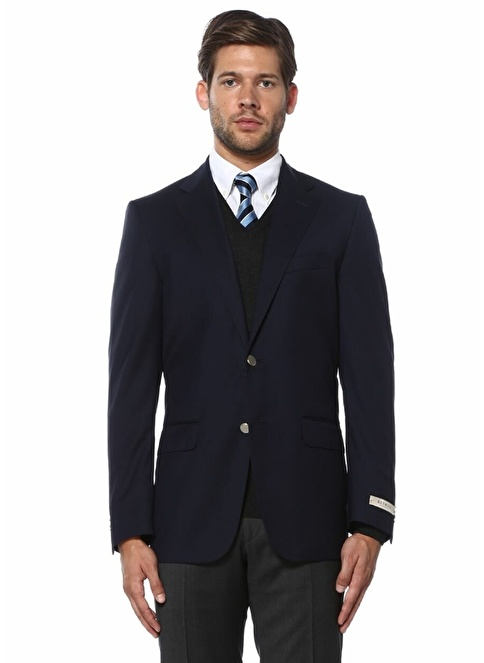 Beymen Collection Yün Blazer Ceket Lacivert